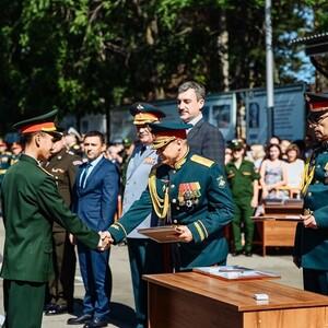 В Благовещенске сегодня состоялся очередной выпуск курсантов ДВОКУ (фото)
