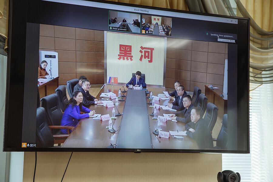 Скоро на Амуре начнется паводок Амурские власти и провинция Хэйлунцзян обсудили что делать