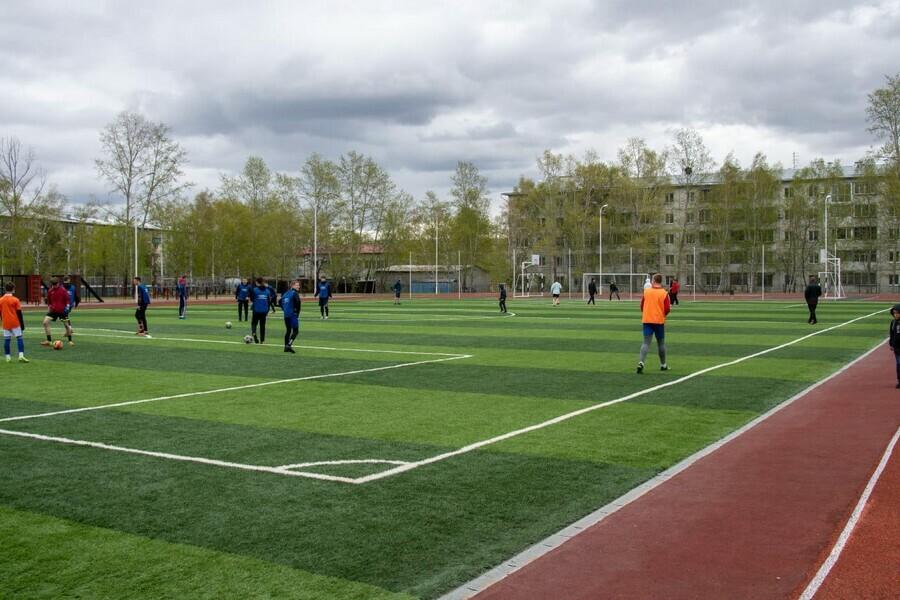 В Благовещенске торжественно открыли новый спортивный комплекс Звездный