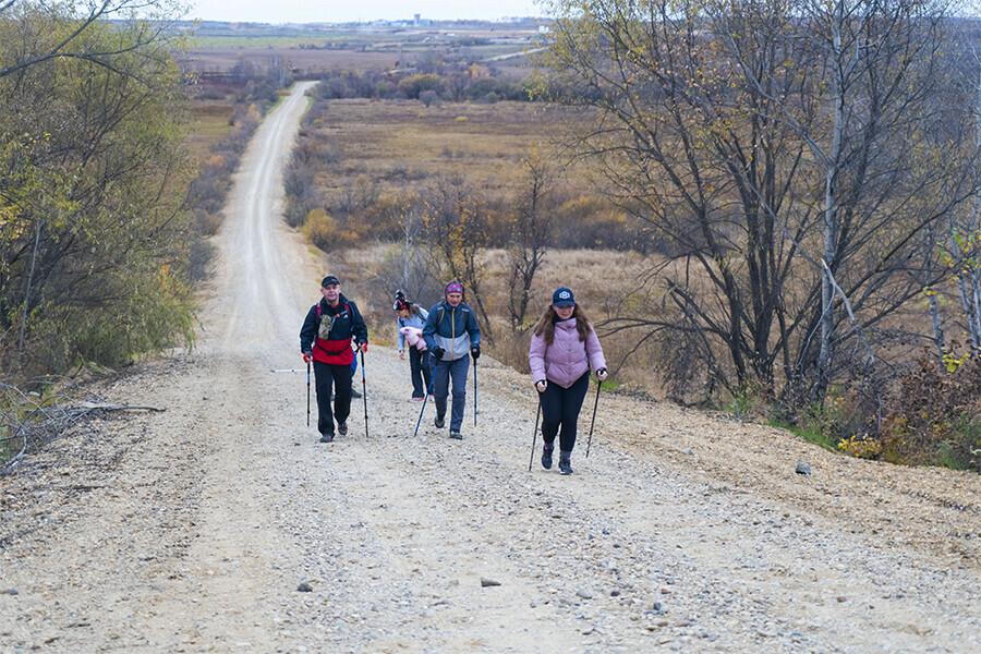 100 километров за сутки пеший марафон Железная сотка прошел в Амурской области фото видео