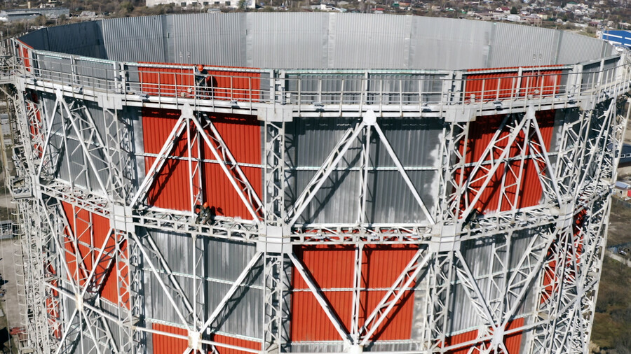 Благовещенская ТЭЦ станет первой станцией на Дальнем Востоке с архитектурной подсветкой градирен