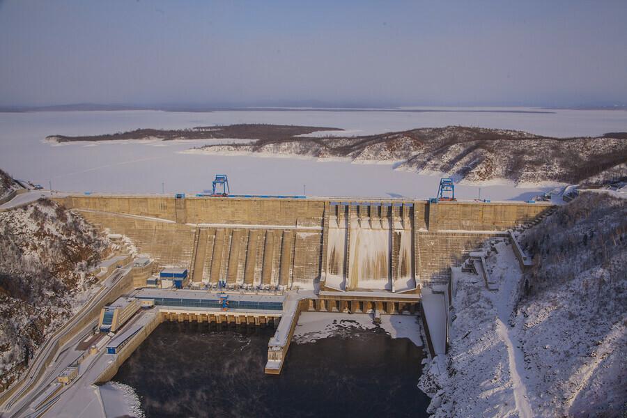 Бурейская ГЭС произвела 6756 миллиарда киловаттчасов электроэнергии в 2020 году
